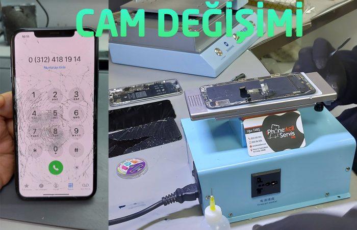 iPhone ipad samsung huawei xaiomi cam ekran değişimi