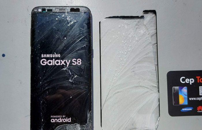 S8 S9 S10 S20 Note serileri üst cam değişimi